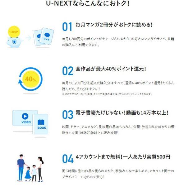 u-next無料トライアル7.1