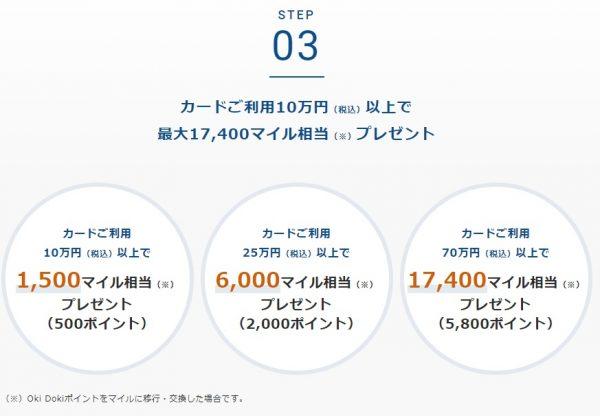201907ソラチカカード入会キャンペーン10