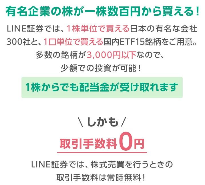 LINE証券モッピー12